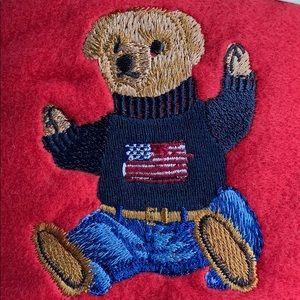 Ralph Lauren Teddy Bear II Throw Blanket